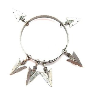 THUNDERBIRD PINON ARROWHEAD BANGLE NEW
